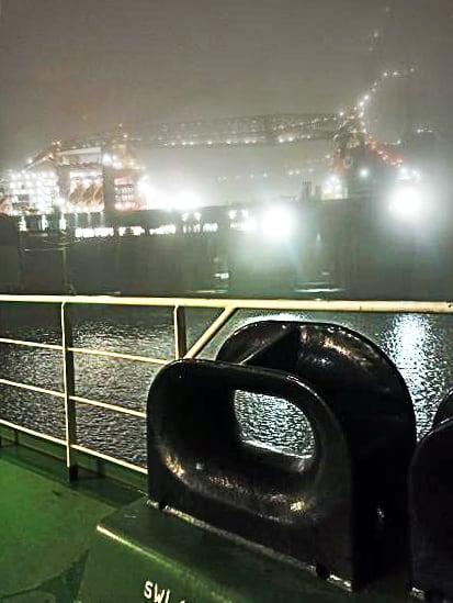 6. Fog in Rotterdam port. Credits to Giorgos Dimopoulos