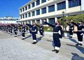 Πραγματοποιήθηκε η τελετή ορκωμοσίας Δοκίμων Σημαιοφόρων του Λιμενικού Σώματος