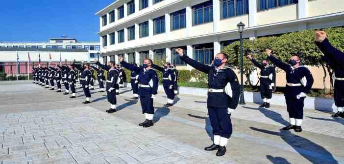 Πραγματοποιήθηκε η τελετή ορκωμοσίας Δοκίμων Σημαιοφόρων Λ.Σ. - ΕΛ.ΑΚΤ.