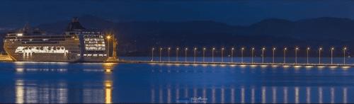 6. Corfu's New Harbour Credits to Vikentios Alamanos