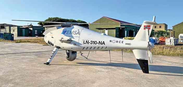Drones της EMSA στα Στενά του Γιβραλτάρ για τις εκπομπές θείου των πλοίων