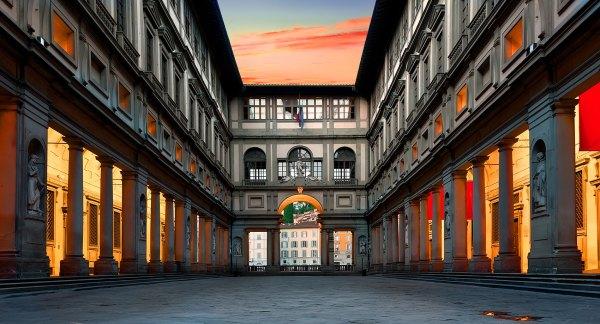 Uffizi Florence Italy