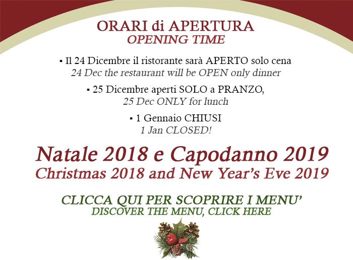 I Menu Di Natale 2019.Menu Vigilia E Pranzo Di Natale 2018 Capodanno 2019