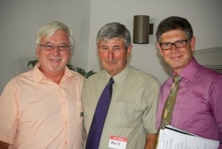 ISANS Board Members Jim Donavan, Ross Mitchell, and Joe Malek