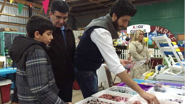 Tareq Hadhad says many of his family's their new friends in Antigonish are affected by the devastating fire in Fort McMurray. (Carolyn Ray/CBC)