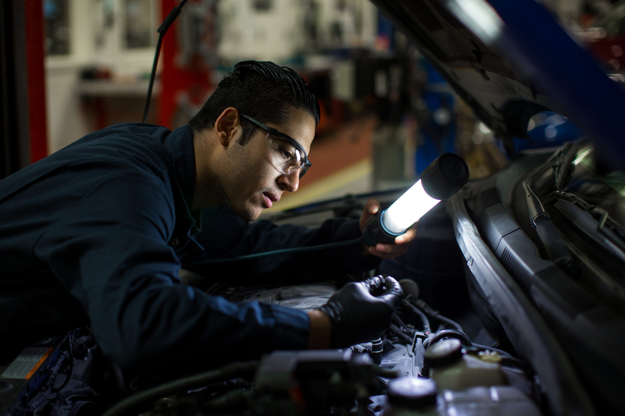 Automotive Course, Training Provides Syrian Refugee with New Start