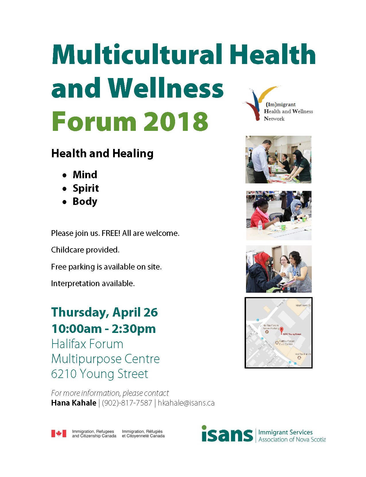 Multicultural Health and Wellness Forum | Immigrant Services