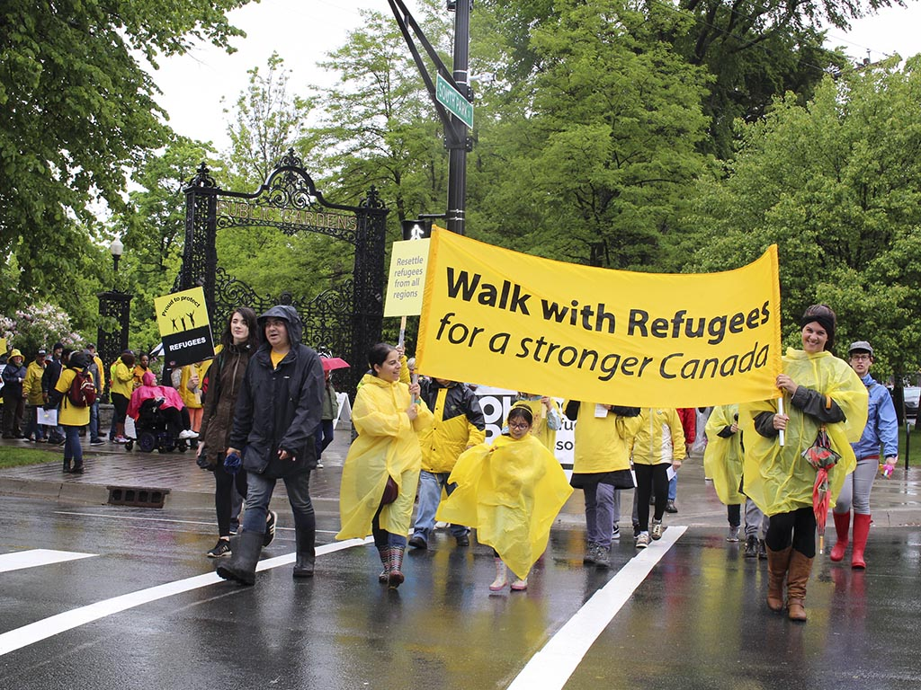 Walk with Refugees for a Stronger Canada 2017