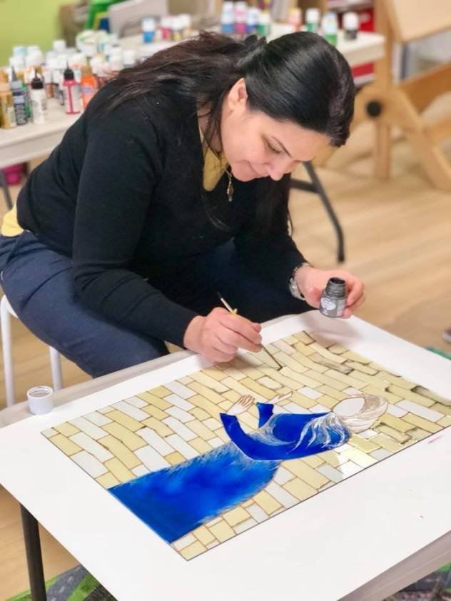 Enas Jawad runs the Little Picasso Daycare & Art Centre.