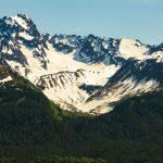 Mountains in Kenai Fjords