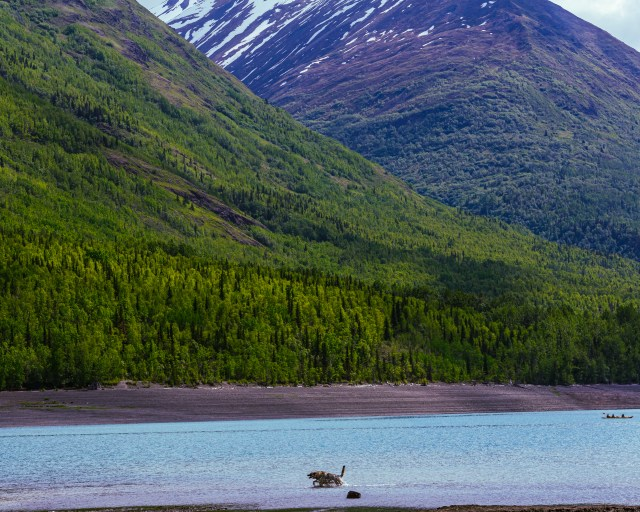 Eklutna Lake - One of the must see places in Anchorage