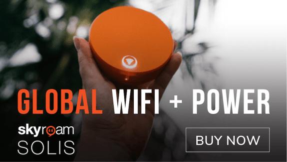 Skyroam - Global Wifi + Power
