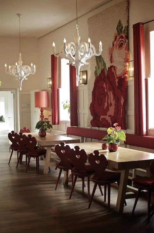 Hotel Kranzbach Essbereich I Foto: Monika Schreiner ISARBLOG