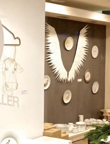 Showroom von lieblingsteller.de in Viktualienmarkt Passage   Foto: Monika Schreiner