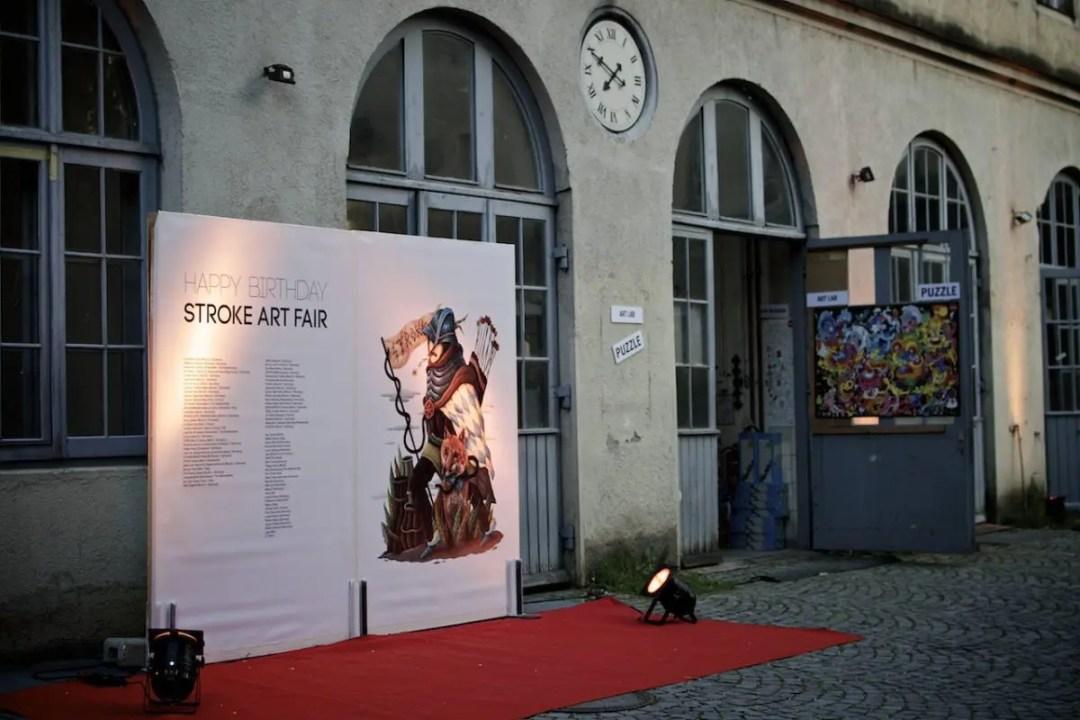 Stroke Art Fair München 2014 | Foto: Monika Schreiner