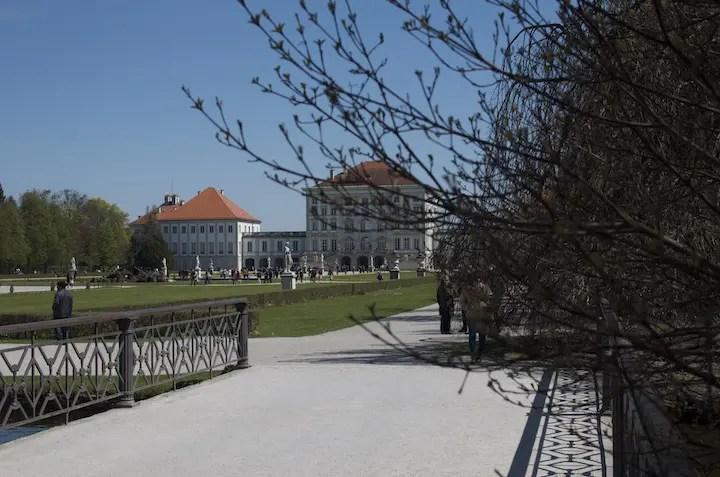 Schlosspark Nymphenburg   Foto: Monika Schreiner