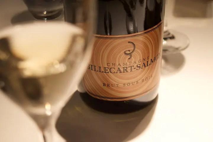 Weinbegleitung zum Hummer: Billecart-Salmon Champagner Cuvee Sous Bois | Foto: ISARBLOG