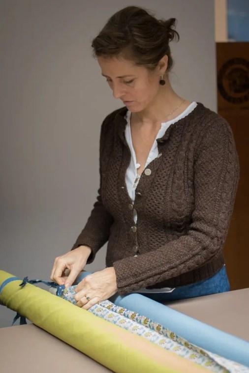 Caroline Lauenstein bei der Arbeit | Foto: Monika Schreiner