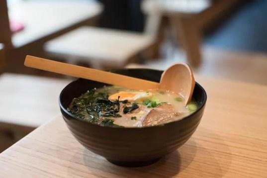 Ramen Suppe im Yuzumuk - ISARBLOG