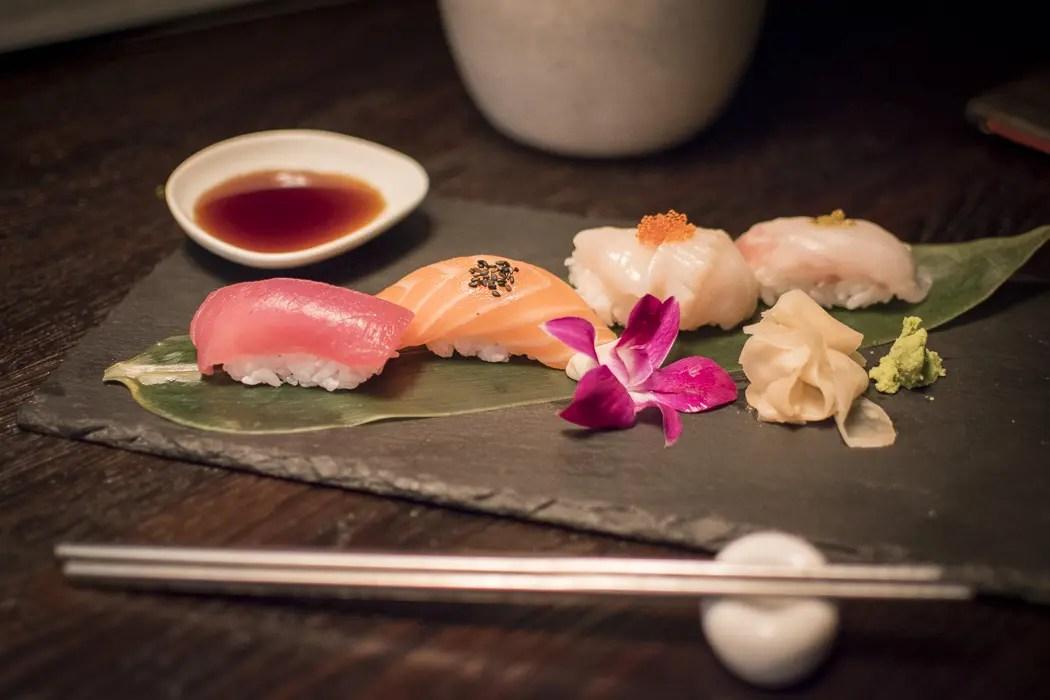 Sushi Nigiri im Restaurant Mun München Haidhausen