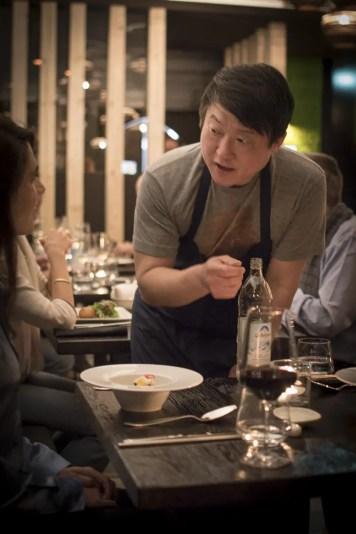 Chefkoch Mun Kim - Restaurant Mun München Haidhausen