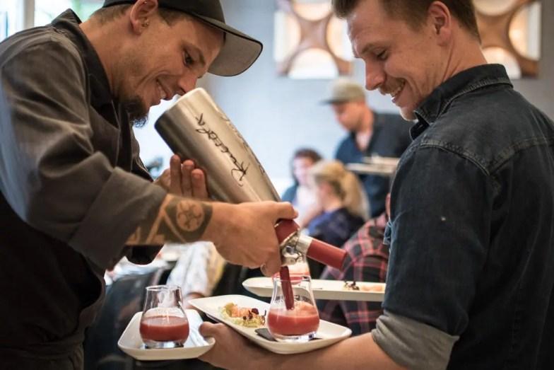 Bernd Arold Gesellschaftsraum München Ron Zacapa Menu für Taste of München - ISARBLOG
