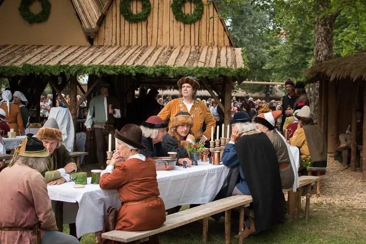 Lagerleben bei der Lanshuter Hochzeit 2017 - #WirEntdeckenBayern - ISARBLOG