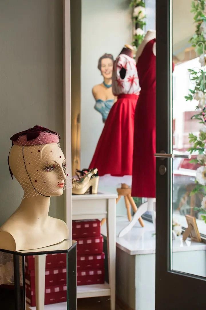 Maison Chichi München, Vintage Mode Fashion Shop - ISARBLOG