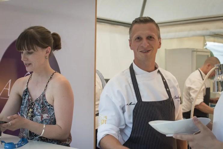 Küchenchef Maximilian Moser vom Restaurant Aubergine in Starnberg   Foto: Monika Schreiner