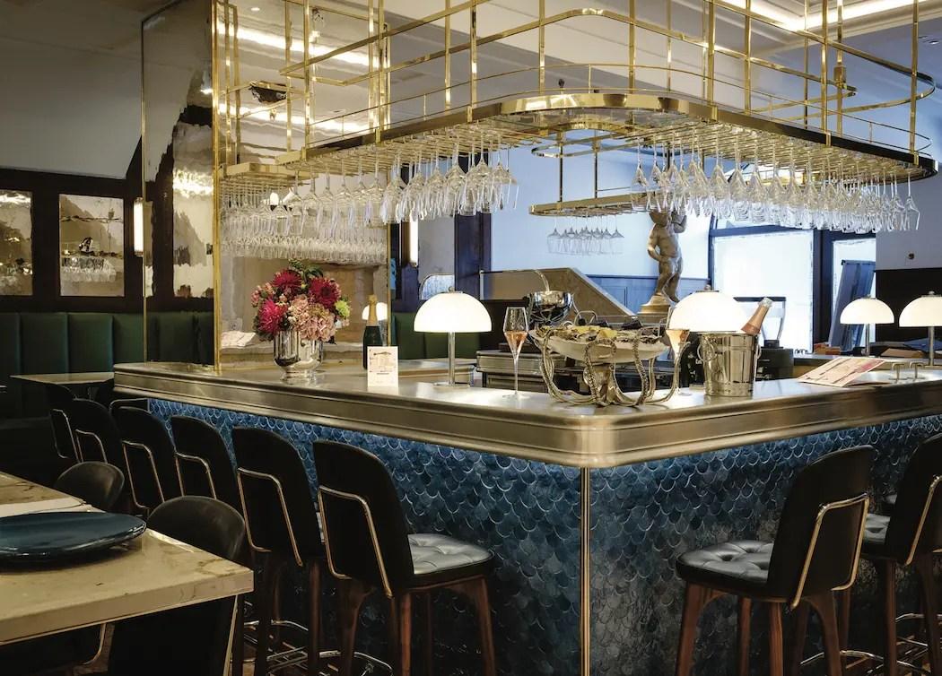 Die Bar im Dallmayr Bar & Grill - ISARBLOG