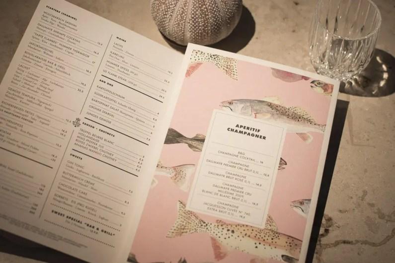 Dallmayr Bar & Grill Speisekarte - ISARBLOG