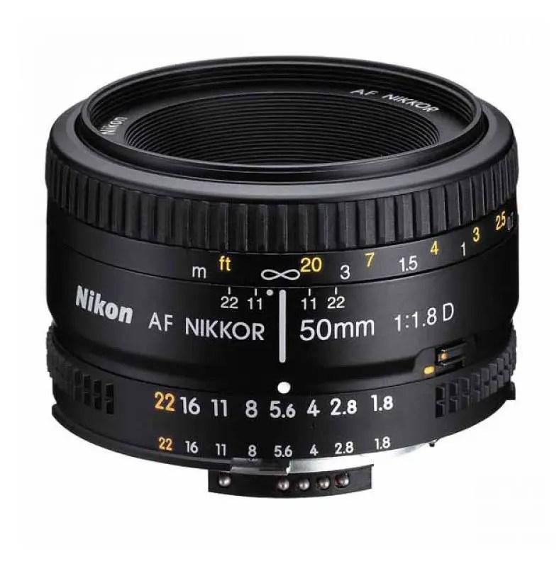 Nikon Objektiv AF Nikkor 50mm 1:1.8D