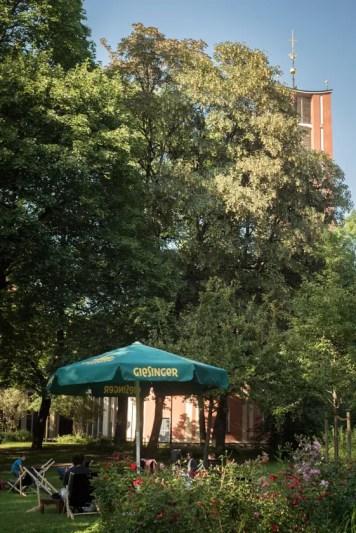 Nussbaumpark München - ISARBLOG