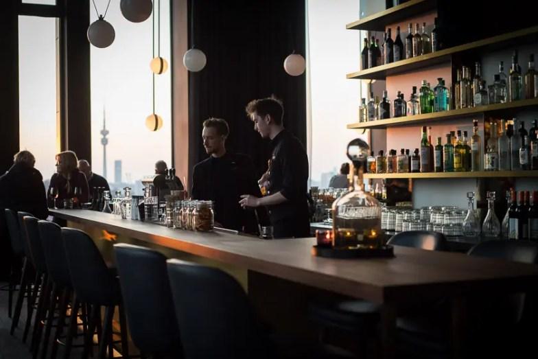 M'uniqo Bar im Andaz Munich Schwabinger Tor Hotel - ISARBLOG