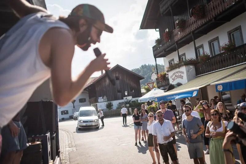 Bierfahrerbeifahrer Spezltour mit Dicht & Ergreifend   Foto: ISARBLOG