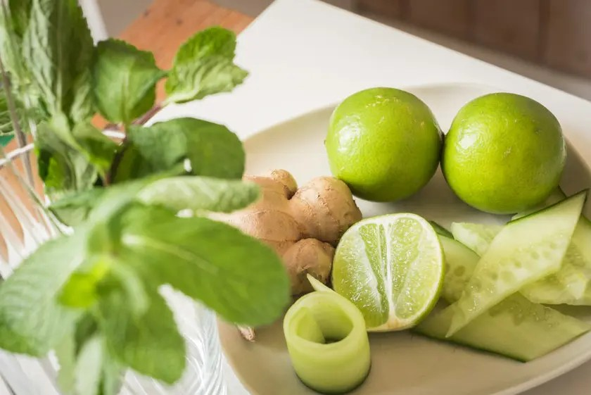 Matcha Mule mit Gin Mare