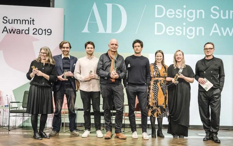Die Gewinnner des AD Design Awards beim AD Design Summit 2019