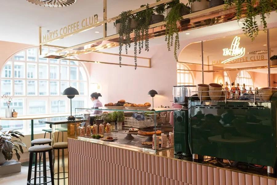 Mary's Coffee Club im Kaufhaus KONEN
