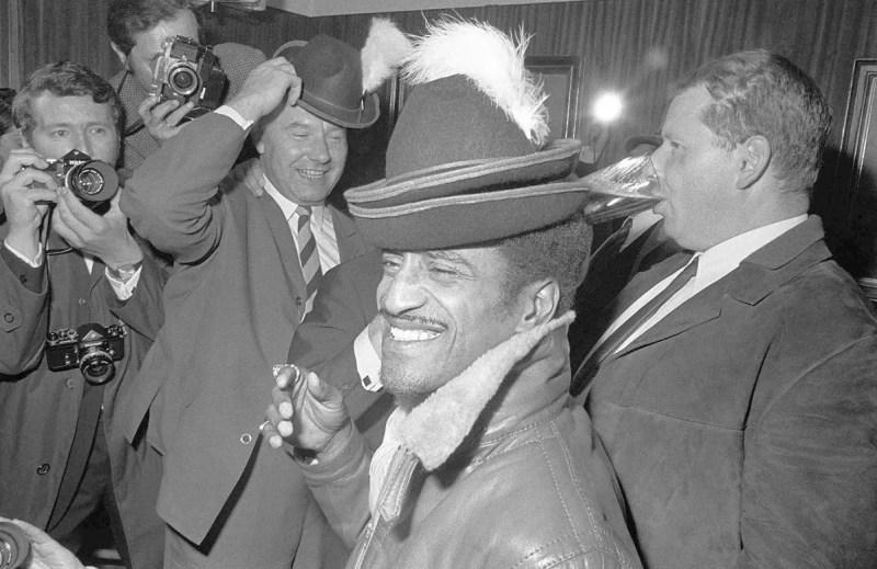 Sammy Davis Jr. in München