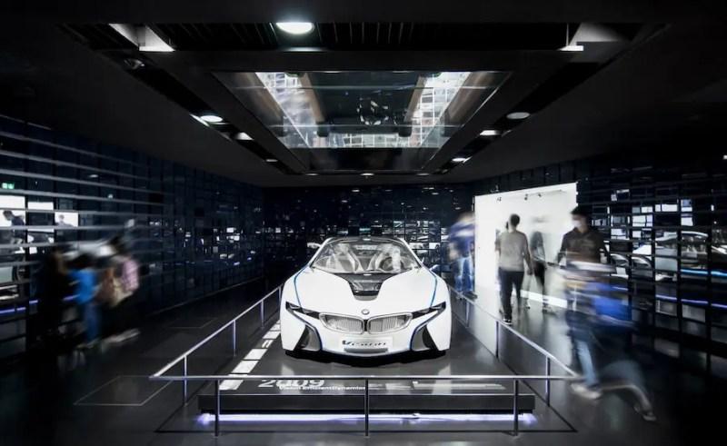 Dauerausstellung Vision im BMW Museum