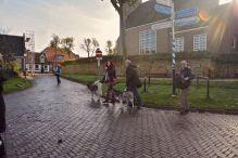 De Waal begrüßt uns mit Sonnenstrahlen - da sollte so manchen ein Licht aufgehen ;-)