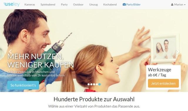 useley_Produkte ausleihen