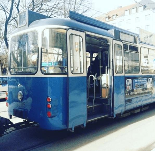 MVG Tram 19 München