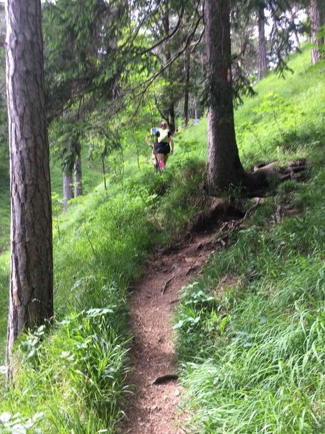 Achensee Trail Hero Aufstieg