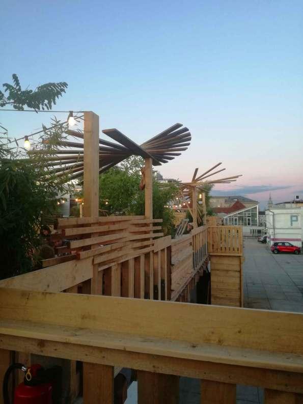 Feierabend im Dachgarten