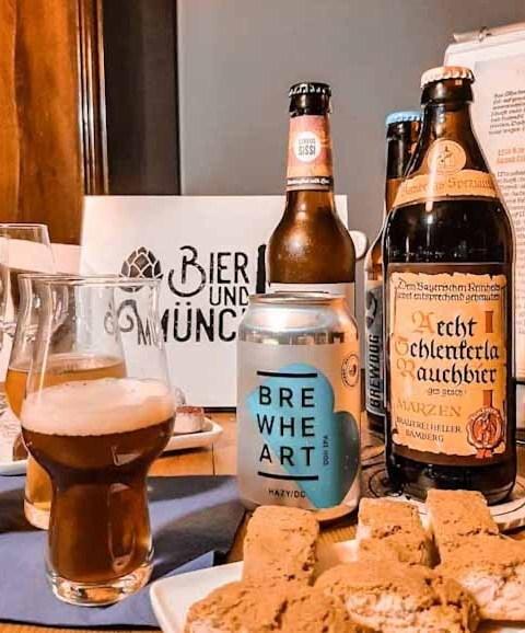Bier und München Bierverkostung