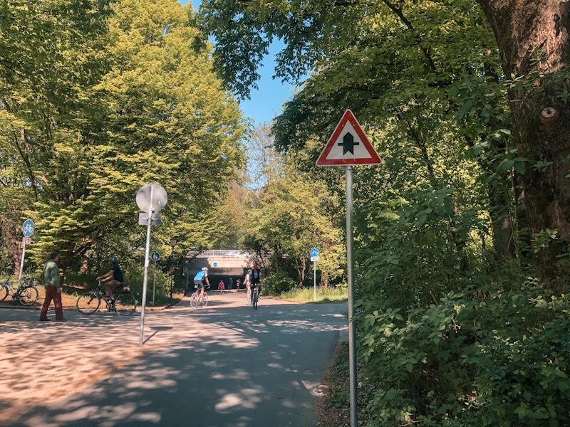 Unterführung Olympiapark München