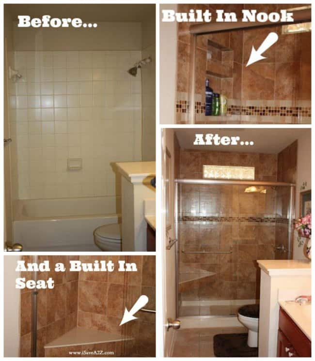 Bathroom Remodel Tub to Shower Project  iSaveA2Zcom