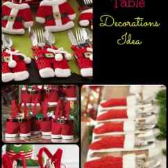 Christmas Elf Chair Covers Fold Up Bed Table Decoration Ideas - Isavea2z.com