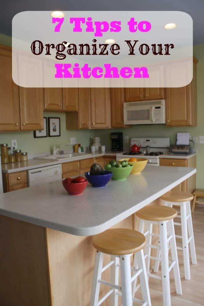 7 Tips to Organize Your Kitchen  iSaveA2Zcom